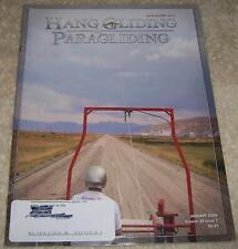 Hang Gliding & Paragliding Magazine January 2009