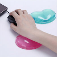 Gel Wrist Wavy Mouse Pad Rest Support for Desktop Laptop Computer Accessories