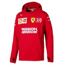 SWEATSHIRT Hood Tech Scuderia Ferrari F1 Team Mission Winnow Formula One New