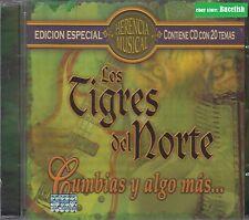 Los Tigres del Norte Cumbias y Algo Mas CD New Nuevo sealed