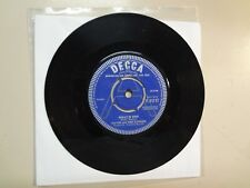 """DAVID & THE EMBERS:What Is This-Teddy Bear Special-U.K. 7"""" 63 Decca F.11717 Demo"""