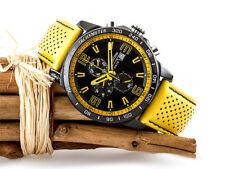 FESTINA Herrenuhr Chronograph Lederband Gelb Chrono F20339/3