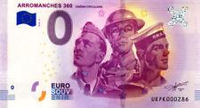 14 ARROMANCHES 360 Cinéma circulaire 2, N° de la 3ème, 2018, Billet 0 € Souvenir
