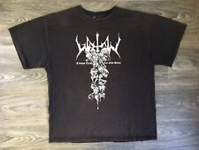 WATAIN Tour Shirt 2008 Black Metal Magic 2-Sided Band Sweden Cult Satan XL