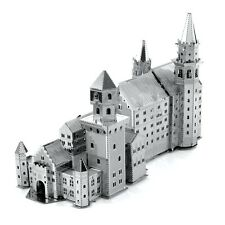 Fascinations Metal Earth 3D Laser Cut Steel Model Kit Neuschwanstein Castle