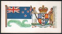 Flag And Standard - Banner For New Zealand c50 Y/O Trade Ad Card