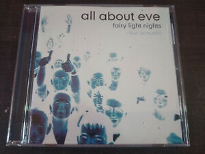 ALL ABOUT EVE - Fairy Light Nights CD New Wave / Goth Rock / Acoustic
