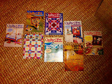 """x 8 """"Quilts & Other Comforts"""" Mail Order Catalogs Sample Patterns & Crafts"""