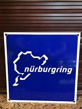 Nurburgring German Racing Porsche Mercedes Bmw Ferrari Lamborghini sign