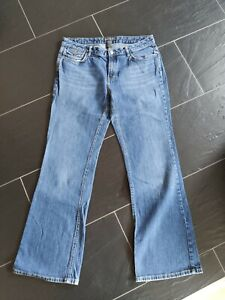Jeans Banana Republic Damen Größe 14 REG Blau Sehr Guter Zustand Boot Cut