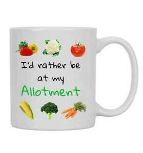 I'd rather be at my allotment gift for GRANDAD Mum or Dad Ideal unique gift