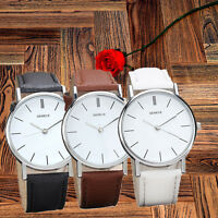 Womens Fashion Watches Retro Design Leather Band Analog Alloy Quartz Wrist Watch