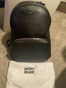 Montblanc Sartorial Collection Small Dome Leather Backpack 116751