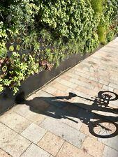 Brompton White M6R folding bicycle With Shimano Dynamo Hub Lights And Extras