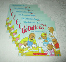 The Berenstain Bears Go Out To Eat (Set of 6, Level M) Jan & Mike Berenstain NEW