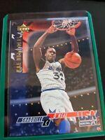 1993-1994 Upper Deck USA Basketball Shaquille O'Neal #52 HOF 2nd year RC