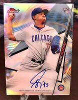 2020 Topps Finest #43 Adbert Alzolay - Chicago Cubs RC REFRACTOR  Auto