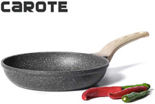 Carote 8 Inch Non-stick Frying Pan Skillet,Stone Cookware Granite Coating from S