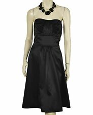 White House Black Market satin cocktail dress 14