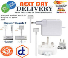 85W Charger Power Adapter For Apple Macbook Pro 15 17'' Magsafe 2 T A1398 UK