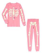 NEW Gymboree Halloween Costume Adult Women Mom Glow in Dark skeleton pajamas XS