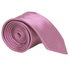 SALE Lilac Purple Men's Skinny Narrow Necktie Tie Long Formal Wedding Party. 972