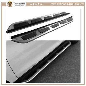 2Pcs Fits for Jaguar F PACE F-PACE 2016-2020 Side Steps Running Board Nerf Bar