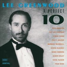A Perfect 10 by Lee Greenwood (CD, Apr-1991, Liberty)