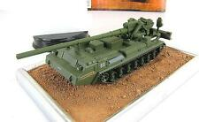 1:72 Soviet self-propelled 2S7 Pion series Russian tanks