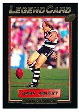 1994 Select Gary Ablett Legend Card Geelong Cats