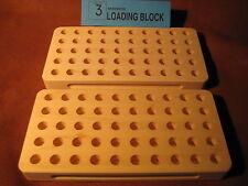 Stalwart Loading blocks, reloading trays TWO # 3 Blocks  9 mm, 38 super etc.