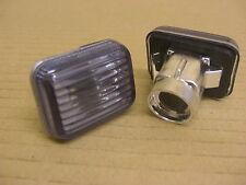 CLASSIC MINI INDICATOR SIDE REPEATER LENS (PAIR) - SMOKED