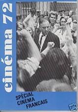 CINEMA 72 N°163 SPECIAL CINEMA FRANCAIS