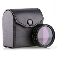 40.5mm Lens Filter Kit UV FLD CPL Circular Polarizing For Nikon 1 J1 J2 V1 V2 S1