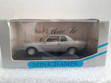 MERCEDES-BENZ 280 CE Coupe W 123 silver 1/43 MINICHAMPS MIN 032221