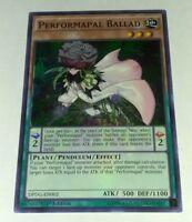 3x Yugioh DPDG-EN002 Performapal Ballad Super Rare Card 1st Edition