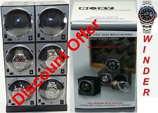 Boxy Brand Brick Automatic Watch Winder System for six watches - (6E2)