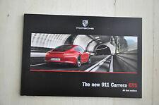 Porsche Carrera GTS Facory Brochure