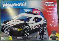PLAYMOBIL 5673 CITY ACTION la voiture de police (version américaine) transport