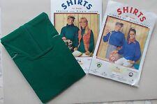 Shirts Troyer Rolis Reißverschluß langarm blau + grün Kinder Gr 116 NEU