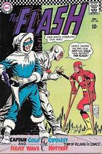 The Flash Comic Book #166, DC Comics 1966 FINE+
