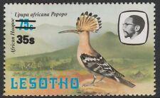 Lesotho (1266) - 1986 abubilla provisionall con variedad de Menta desmontado