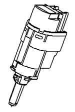 VAUXHALL Interruptor-ORIGINAL-93868390