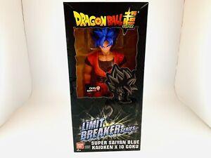 Limit Breaker Series Super Saiyan Blue Kaioken X 10 Goku Action Figure GAMESTOP