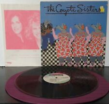The Coyote Sisters–The Coyote Sisters    Morocco Records–6063 CL  US 1984  vinyl