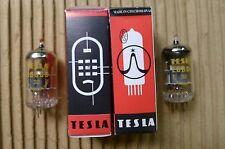 2Pcs. Nos Tesla E88Cc (Ecc88/E188Cc/6922) Matched Pair-Gold Pin