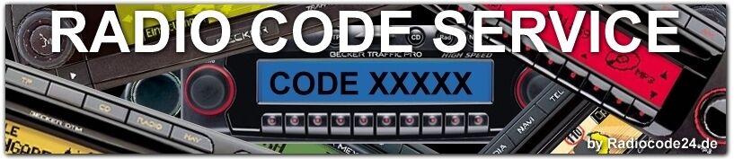 Radiocode24.de Radio Code Shop