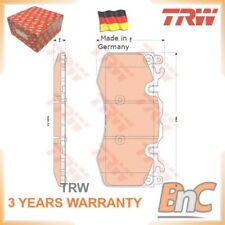 FRONT DISC BRAKE PAD SET LAND ROVER TRW OEM LRO16684 GDB1834 GENUINE HEAVY DUTY