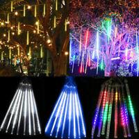50cm 320 Leds Lights Meteor Shower Rain 8 Tube Tree Outdoor Light Xmas Decor