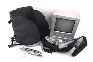 """Orion 9"""" TV/DVD Player Combo TVDVD092 Vintage Gaming TV w/ Remote Case & Manual"""